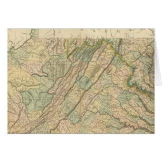 La Virginie, le Maryland, Delware Carte De Vœux