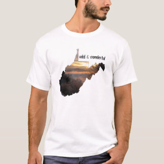 La Virginie Occidentale, sauvage et merveilleux T-shirt