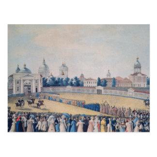 La visite d'Alexandre I à l'Alexandre Cartes Postales