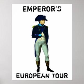 LA VISITE EUROPÉENNE DE L EMPEREUR POSTERS