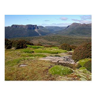 La voie sur terre 2 de la Tasmanie Carte Postale