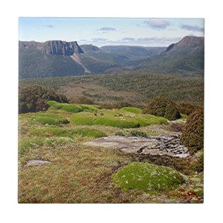 La voie sur terre 2 de la Tasmanie Petit Carreau Carré