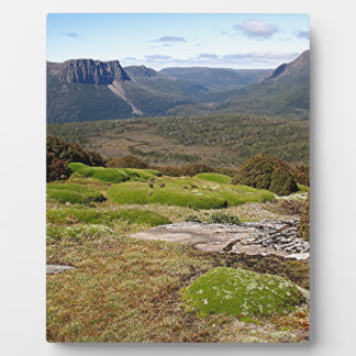 La voie sur terre 2 de la Tasmanie Plaque Photo