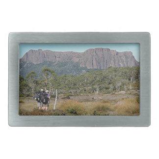 La voie sur terre de la Tasmanie Boucles De Ceinture Rectangulaires