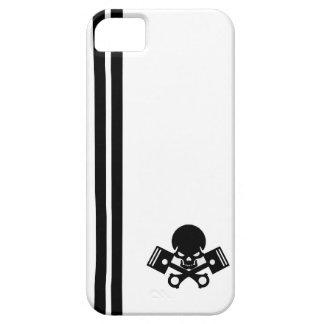 La voiture de crâne et de piston refroidissent coques Case-Mate iPhone 5