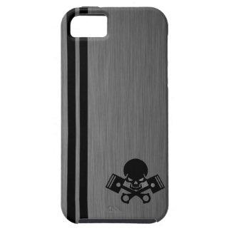 La voiture de crâne et de piston refroidissent l'e coque iPhone 5 Case-Mate