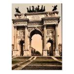 La voûte de la paix, cru Photochrom de Milan, Ital Carte Postale