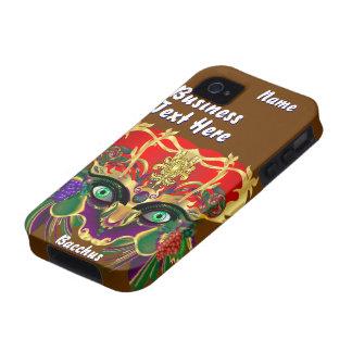 La vue de Bacchus de mythologie de mardi gras veui iPhone 4 Case