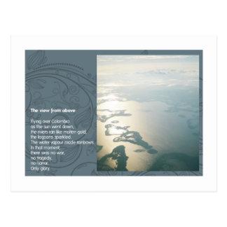 La vue d'en haut cartes postales