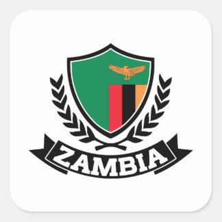 La Zambie Sticker Carré