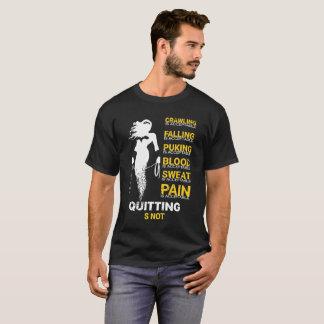 L'abandon n'est pas - merveille t-shirt
