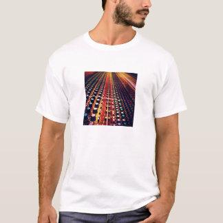 L'abat-voix commute le T-shirt