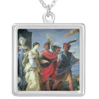 L'abduction de Hélène, c.1626-31 Pendentif Carré
