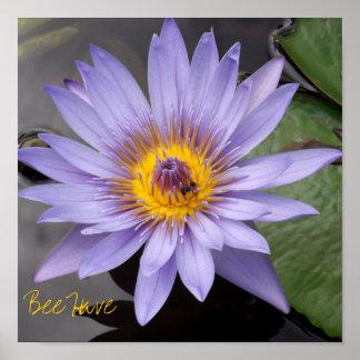 L'abeille ont l'affiche