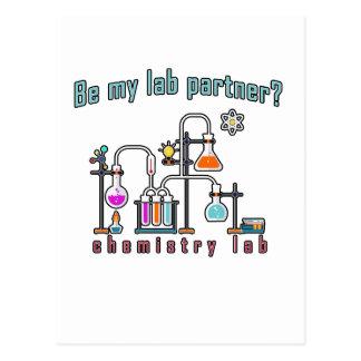 Laboratoire de chimie carte postale