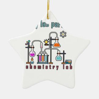 Laboratoire de chimie ornement étoile en céramique