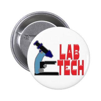 LABORATOIRE TECH avec le MICROSCOPE Pin's
