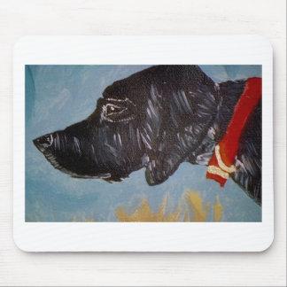 Labrador noir tapis de souris