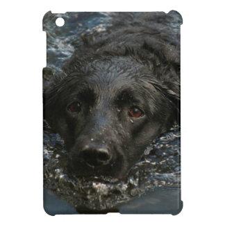 Labrador retriever noir personnalisable étuis iPad mini