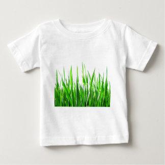L'abrégé sur nature de lames d'herbe forme le t-shirts