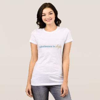 L'abstinence est dopant t-shirt