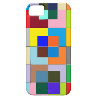 Labyrinthe de COULEUR : Graphiques heureux Coque Barely There iPhone 5