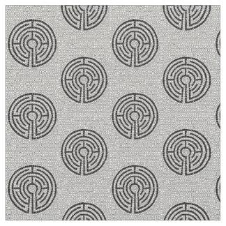 Labyrinthe VII Tissu