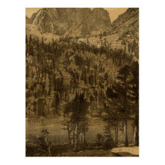 Lac alpin, sierra Nevada Carte Postale
