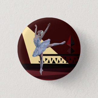 'Lac Ballerina swan Badge