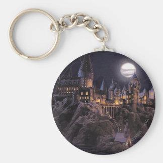 Lac castle   de Harry Potter grand à Hogwarts Porte-clé Rond