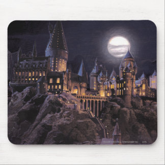 Lac castle | de Harry Potter grand à Hogwarts Tapis De Souris