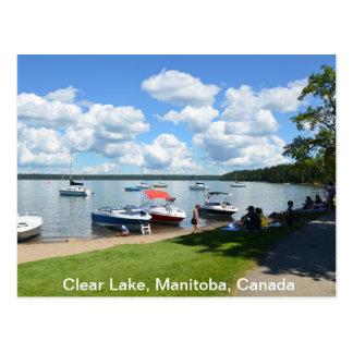 Lac clair, parc national, Manitoba, Canada Cartes Postales