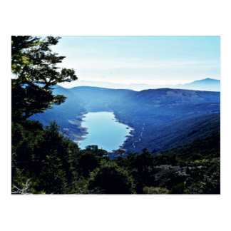 Lac cobb, montagnes de Tasman, île du sud Carte Postale