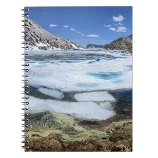 Lac congelé bear blanc - sierra carnets