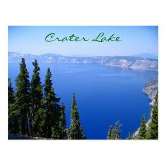 Lac crater carte postale