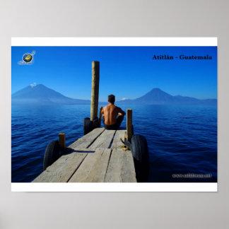 Lac d'Atitlan Posters