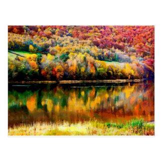 lac de myszkowieckie carte postale