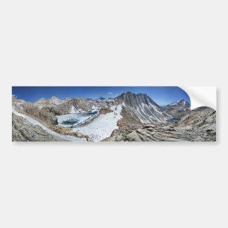 Lac d'ours blanc et bear de Brown - sierra Autocollant De Voiture
