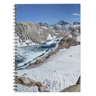 Lac d'ours blanc et bear de Brown - sierra Carnet