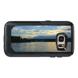 Lac du coucher du soleil de bleu d'Ozarks Coque OtterBox Samsung Galaxy S7
