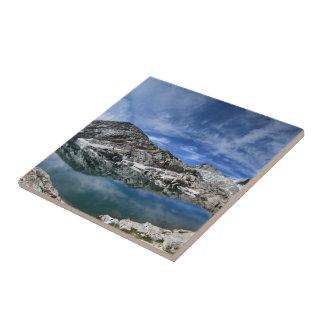Lac en vé et panorama de sept pignons - sierra petit carreau carré