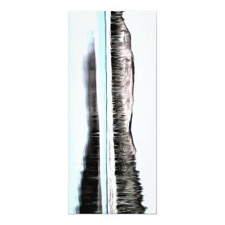 Lac et beaux environs carton d'invitation  10,16 cm x 23,49 cm
