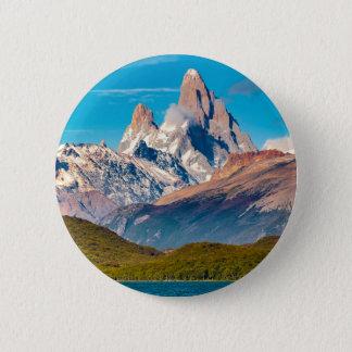 Lac et montagnes des Andes, Patagonia - Argentine Badges