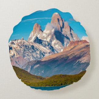 Lac et montagnes des Andes, Patagonia - Argentine Coussins Ronds