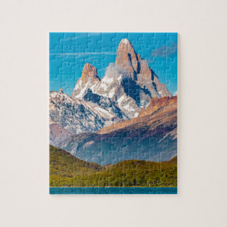 Lac et montagnes des Andes, Patagonia - Argentine Puzzle