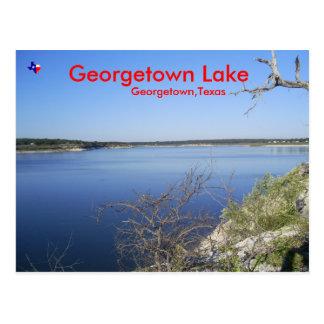 Lac georgetown. Georgetown le Texas Carte Postale