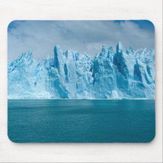 Lac, glace et ciel bleus tapis de souris