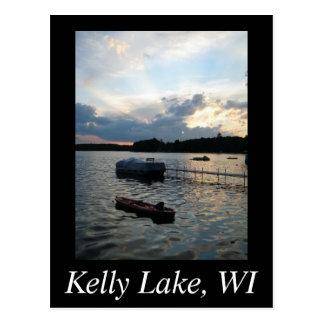 Lac kelly carte postale
