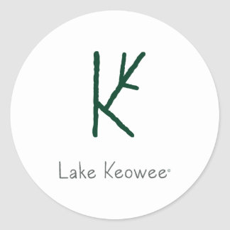 Lac Keowee Sticker Rond