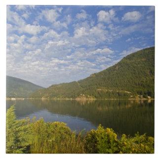 Lac Kootenay en Colombie-Britannique du Nelson Grand Carreau Carré